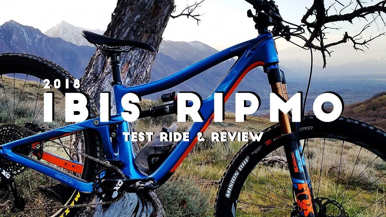 Ibis Ripmo Test Ride Review Youtube