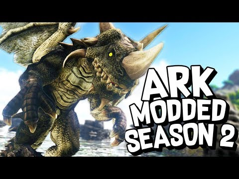 ARK Survival Evolved Ep #1 - NEW MAP! NEW MODS! NEW ADVENTURE! (Modded Survival S02)