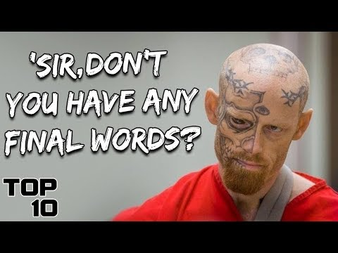 Top 10 Convicts Who Showed No Emotions During A Life Sentence