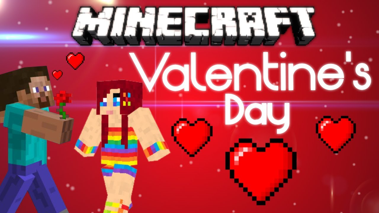 Minecraft Valentine S Day Steve S Girlfriend Youtube