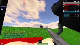 MrJono158 playing a bit more paintball on roblox