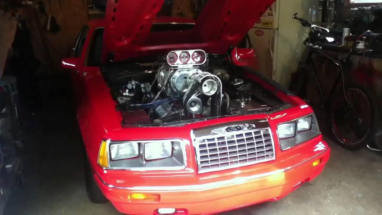 & Ford Thunderbird Drag Car Startup u0026 Rev - YouTube markmcfarlin.com
