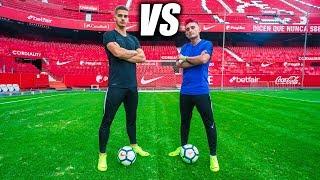 ANDRÉ SILVA VS DELANTERO09 - Retos de Fútbol