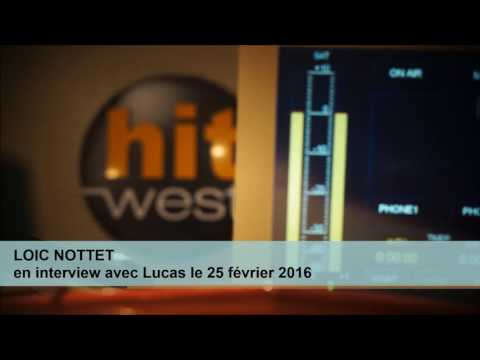Loïc Nottet -- Longue et intéressante interview radio (début 2016)