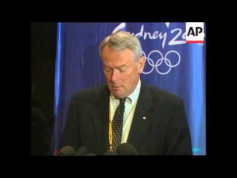AUSTRALIA: SYDNEY OLYMPICS: IOC PRESIDENT