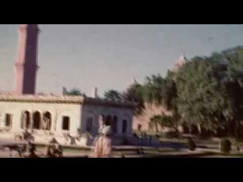 Lahore - Before Partition (Technicolor Footage)