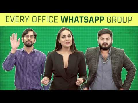 MensXP: Every Office WhatsApp Group Ever Ft. Kusha Kapila | Types Of People In Office Group Chats