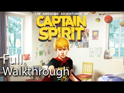 The Awesome Adventures of Captain Spirit All Cutscenes (Movie Full Walkthrough) PS4 Pro