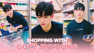 Shopping with Flower Intern GOT7 Jinyoung ENG SUB • dingo kdrama