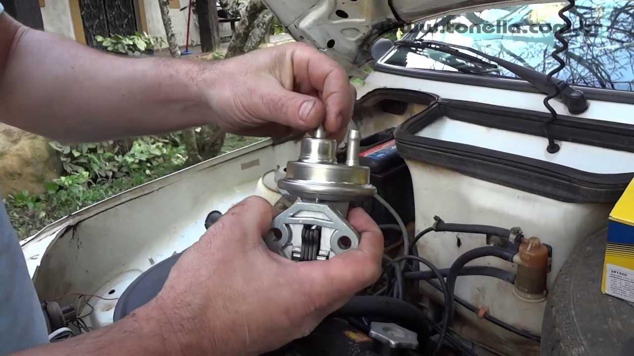 Tonella Troca Da Bomba De Gasolina Fiat Youtube