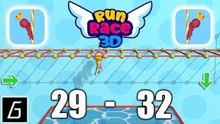 Run Race 3D Gameplay - Levels 29 - 32 + Bonus Levels - (iOS - Android)