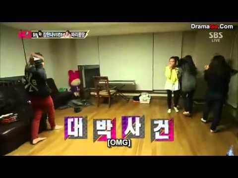 Kwon Jinah dancing to Exo - Growl