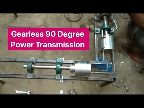How to make Gearless Power transmission system