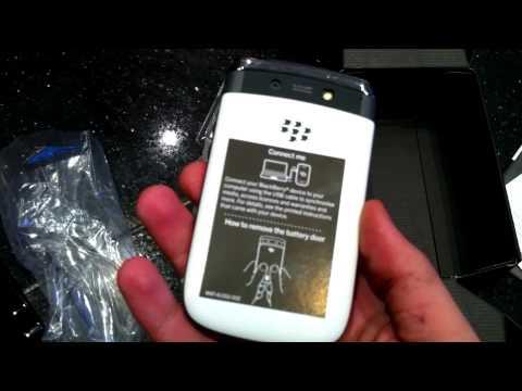 Blackberry 9810 White Unboxing