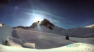 GoPro HD: Eric Willett Snowboard Slopestyle TV Course Preview – Winter X Games Europe 2012