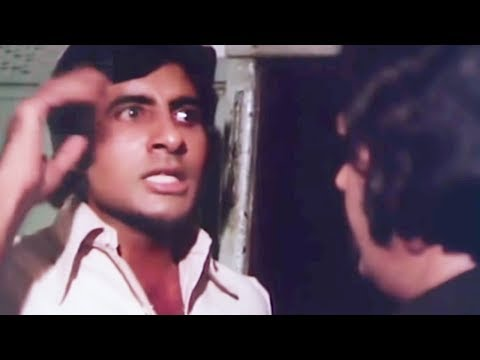 Amitabh Bachchan asks Prem Chopra about his real intentions | Do Anjaane | Bollywood Scene