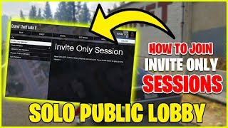 How To Create a Invite Only Session GTA 5 2020 EASY METHOD (GTA V ONLINE)