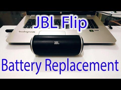 JBL Flip Dissmantling / Battery Replacement In Depth Tutorial