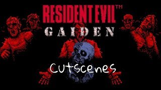 Resident Evil Gaiden - Cutscenes