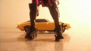 A Bumblebee Short: Bumble-Rumble (Transformers stop-motion)