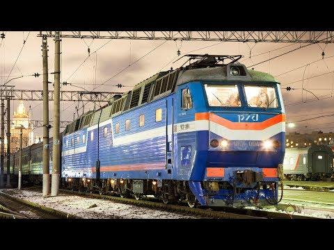 ZDSimulator.ЧС7-094+ЧС8-045 со скорым международным поездом №023 Москва - Париж, Москва - Минск