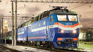 Фото ZDSimulator.ЧС7 094ЧС8 045 со скорым международным поездом №023 Москва   Париж Москва   Минск