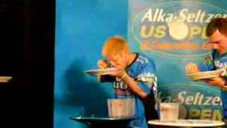 Takeru Kobayashi At Us Open Of Competitive Eating