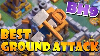 Is THIS The Best Ground BH9 Attack Strategy? MASS SUPER PEKKA! Best BH9 Attack Strategies