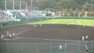 秋季近畿大会 1回戦 試合結果 滋賀学園 13- 6 智辯和歌山(8回コールド)