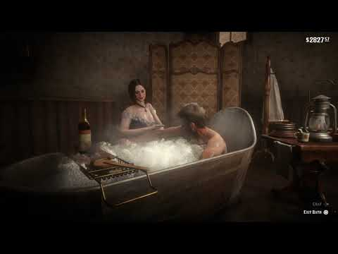 Red Dead Redemption 2 - Taking a Bath!