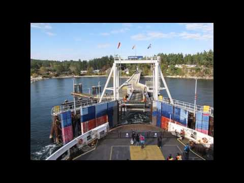 Gulf Islands ferry route 5 tour