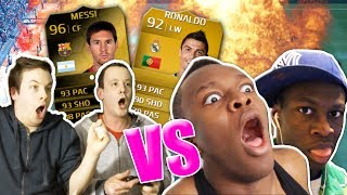 KSI & DEJI Vs. TwoSync! SIF MESSI & RONALDO FIFA 14 ULTIMATE TEAM PINK SLIPS!