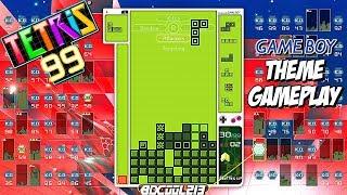 Tetris 99 Game Boy Theme Event Gameplay