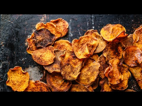 How to Make Honey BBQ Sweet Potato Chips: Gluten-Free & Paleo