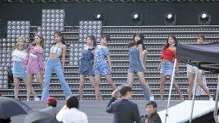 180717 트와이스(TWICE) Intro + Dance The Night Away 리허설(Rehearsal) 4K 직캠 by 비몽