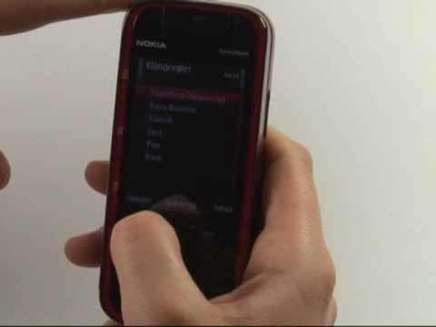 Nokia 5730 XpressMusic Test Musikplayer