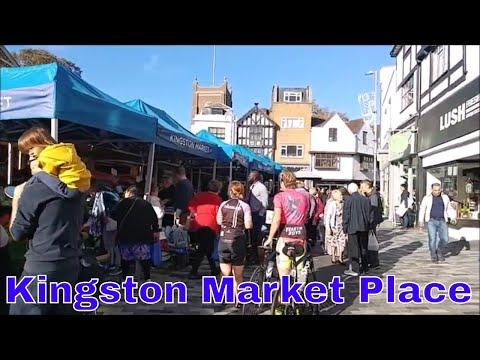 Walking In London: London Walk In Kingston Upon Thames Town Centre