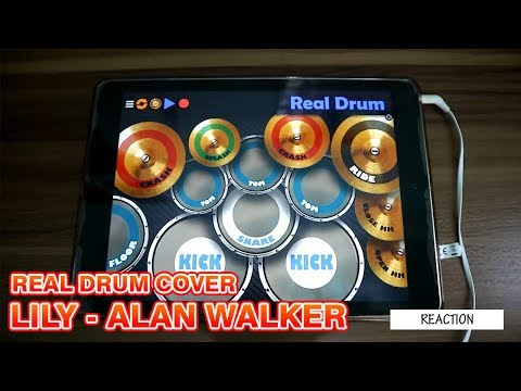 LILY Alan Walker - Real Drum Cover