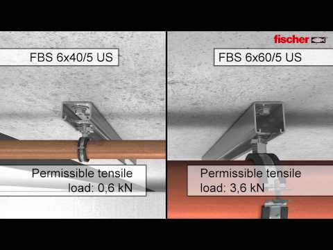 Fischer Concrete Screw FBS 6