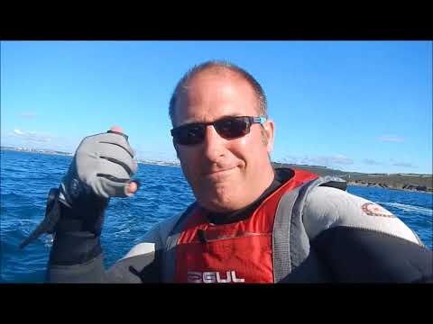 Extreme Sailing - Plymouth to Dartmouth F18 hobie Cat