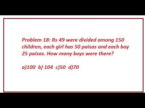 Word problems /logical reasoning GRE, GMAT , CA, NTS, ICMA