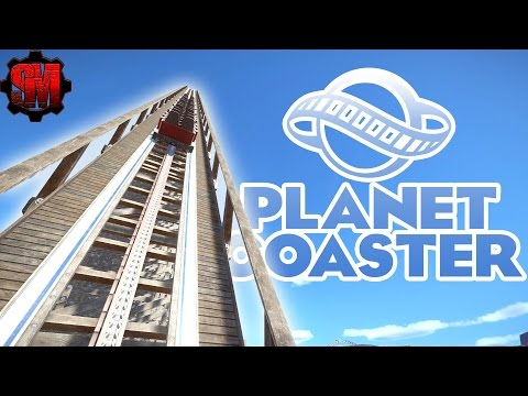 WOODEN COASTER MADNESS! - Planet Coaster Gameplay First Look