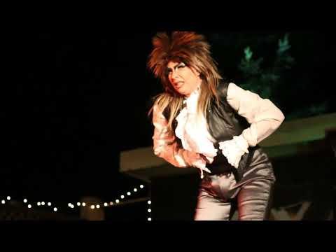 Andi Stardust in North Bay Cabaret's Life On Mars