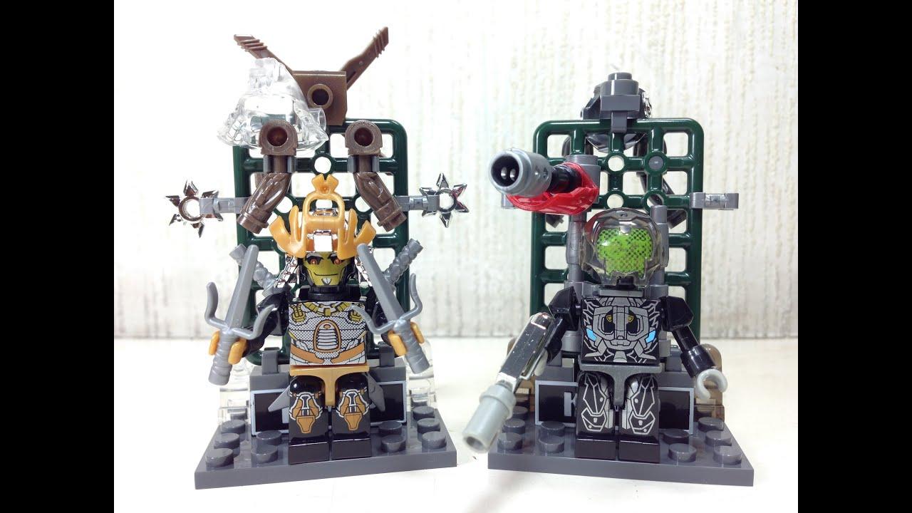 Custom Kreons Drift & Lockdown Kre O Transformers 4 - YouTube