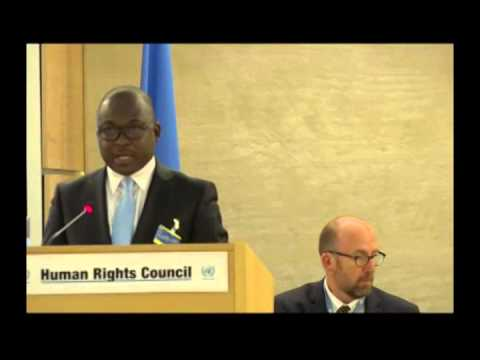 Minister Of Foreign Affairs Delivers Nigeria's Statement To UN Human Right Commission