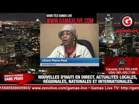 (Gamax Live) gamaxlive.com • JOUNAL KREYÒL 4è • RADIO KISKEYA HAITI  • EN DIRECT • SUR LES  RÉSEAUX
