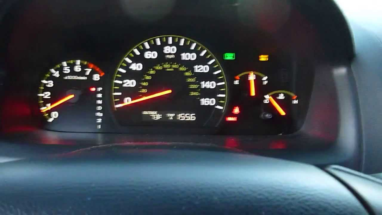 2003 Accord Maintenance Required Light Reset Instructions + Fuction