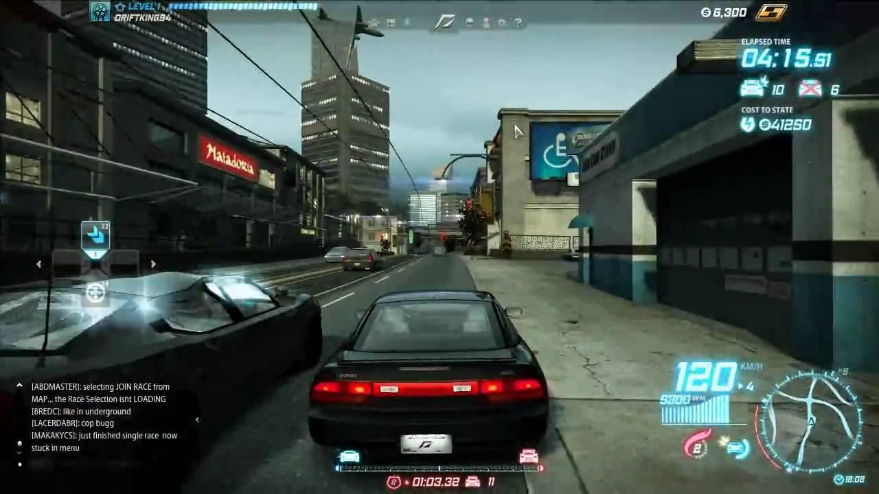 need for speed world online spielen