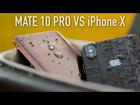 Huawei Mate 10 Pro vs iPhone X Full Comparison With Camera Test!