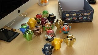 Android Mini Figures Series 4 Unboxing and Giveaway